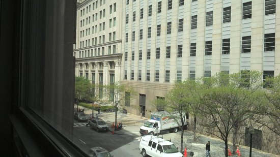 Loews Boston Hotel: View from room 246