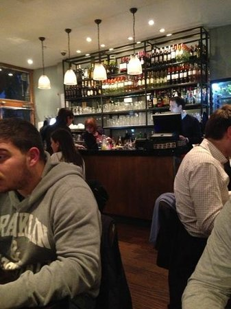 Luciano's Ristorante Italiano: the borne is great .. nice and lively !