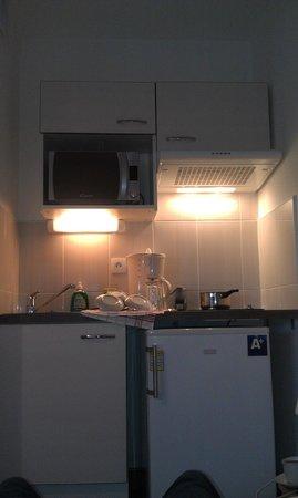 All Suites Appart Hotel Dunkerque : cuisine