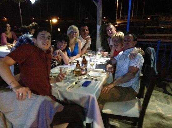 Limos Restaurant Kalkan: Taken by Oktay our amazing waiter!