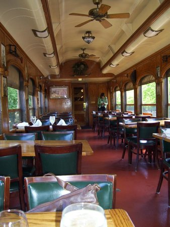 Napa Valley Wine Train: Train Car