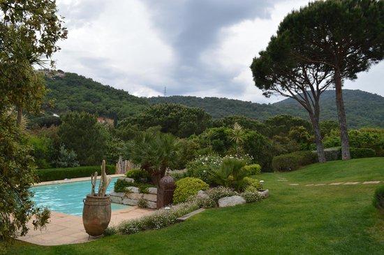 La Toscane: Jardin