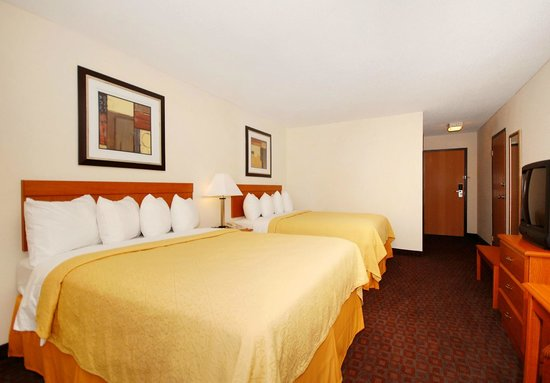 Quality Inn: Double Bed Guest Room