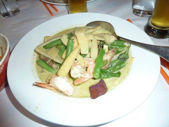 Boyd thai : comida