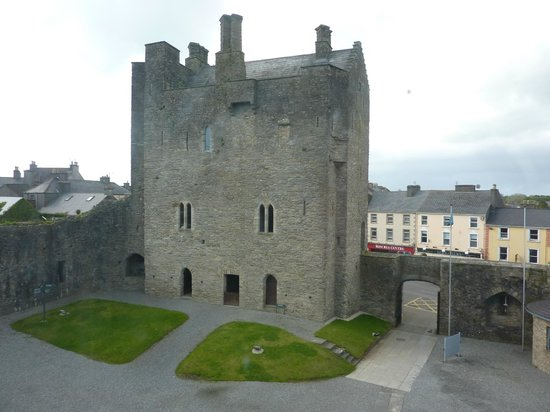 Roscrea Castle: The Castle from the Third Floor of Damer House
