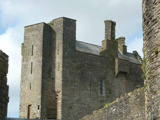 Roscrea Castle: A Section of the Castle
