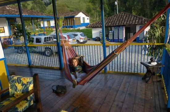El Rancho de Salento : Relaxing at El Rancho