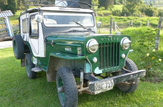 El Rancho de Salento : 1950's Restored Willeys Jeep