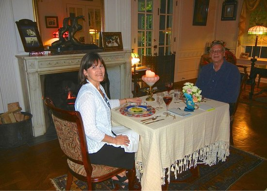 Melange Bed and Breakfast: A Wonderful Private Dinner