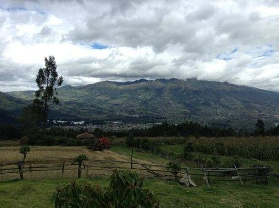 Hacienda Cusin: View from our horseback ride