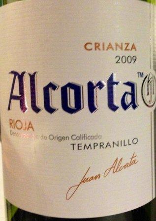 Milonga's Restaurante Argentino : Excelente vinho