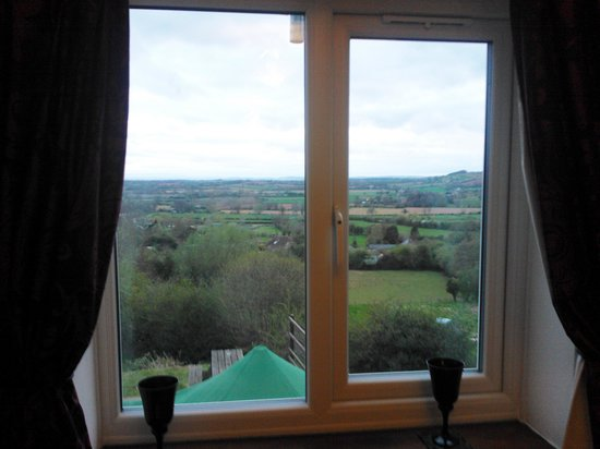 Halmonds Frome, UK: View from double room