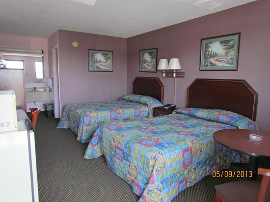 Turnpike Motel : Double Bed Room