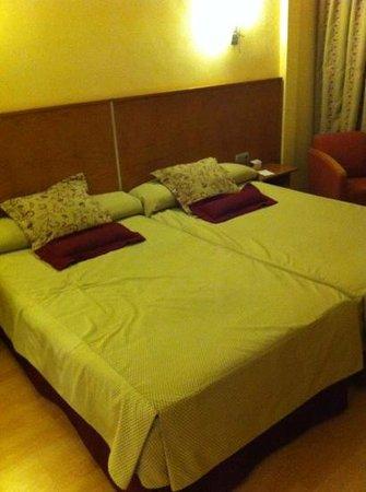 Hotel Alfonso VIII de Cuenca: habitacion