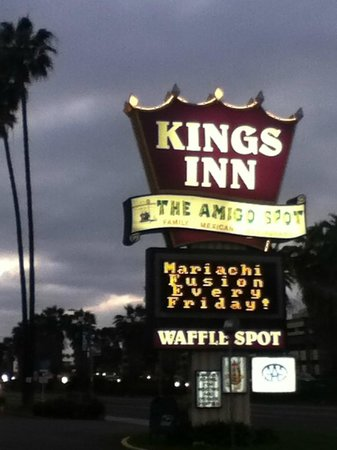 Amigo Spot is inside the Kings Inn