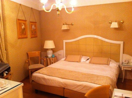 ميركيور ميلانو سنترو: A very comfortable bed