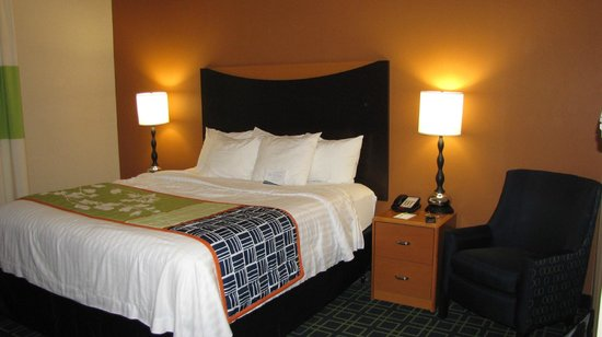 Fairfield Inn & Suites by Marriott Harrisburg West: Our room