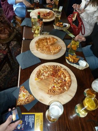 PubLove at the White Ferry House: Food in Pub