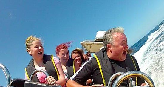 Waverider Lanzarote- Day Tours: Waverider Lanzarote Ocean Blast from the Old Town Harbour Puerto del Carmen
