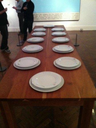 Aberdeen Art Gallery: Art exhibit