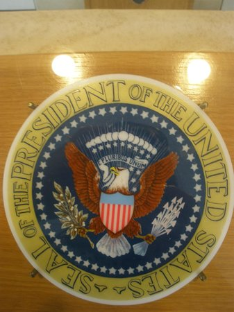 Lyndon B. Johnson National Historical Park: Seal of the president