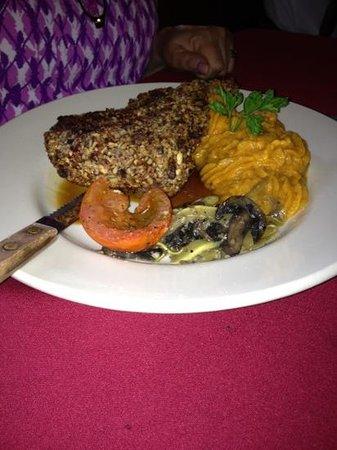Swamp Fox: Pecan Crusted Pork Chop