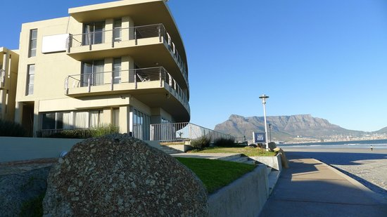 Lagoon Beach Hotel & Spa: from beach view