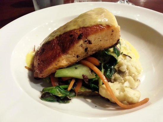 The Last Kitchen's Salmon Dill and Caper Risotto