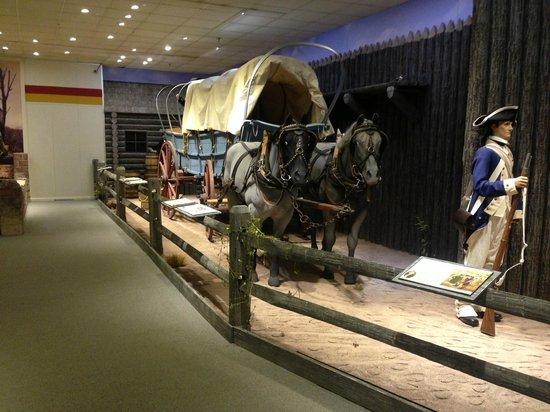 Newport News, VA: Conestoga wagon circa 1760
