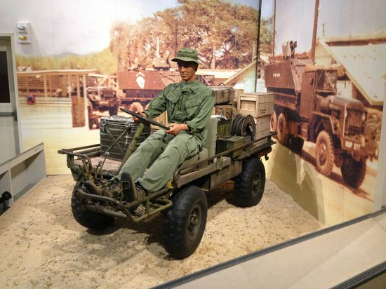 U.S. Army Transportation Museum: M-274 Mechanical Mule 1968