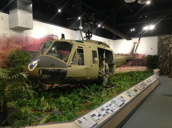 U.S. Army Transportation Museum: UH-1 helicopter circa 1967