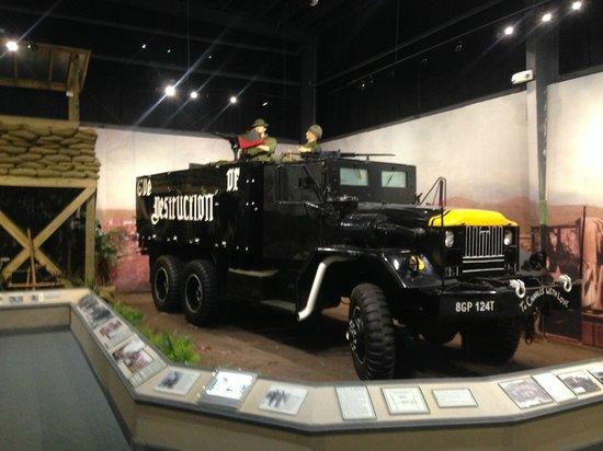 U.S. Army Transportation Museum: Armored Gun Truck circa 1968