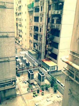 Lee Garden Guest House: characteristic view from room 808