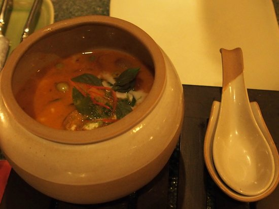 Saffron at Banyan Tree Phuket: Red curry