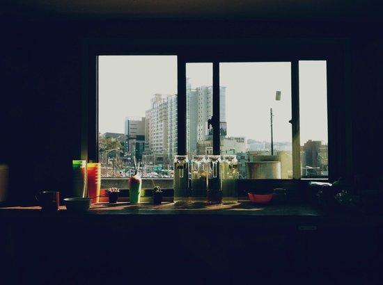 Seoul Base Camp Hostel : Kitchen
