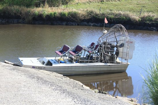 Old Fashioned Airboat Rides