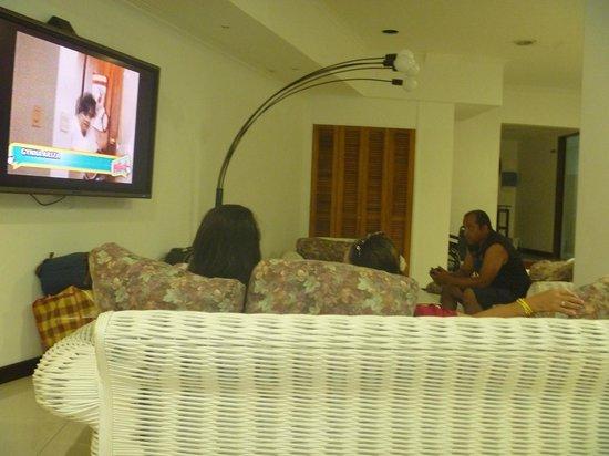 Hotel Portofino: sala de espera