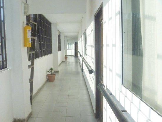 Hotel Portofino: pasilo del tercer piso