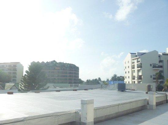 Hotel Portofino: vista desde el tercer piso