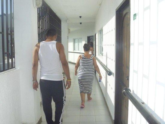 Hotel Portofino: ´pasillo tercer piso