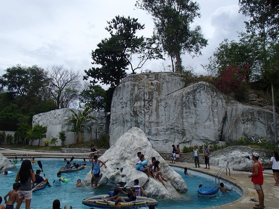 White Rock Waterpark and Beach Resort: Literally, there are white rocks, and so the resort was named as such.