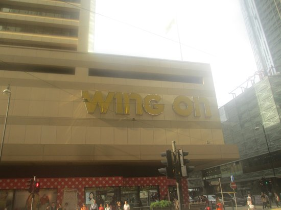 Wing on Department Store (Sheung Wan total)