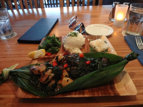 Seafood Lau Lau Picture Of Lahaina Fish Co Maui Tripadvisor
