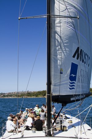 Explore Sailing - America's Cup Sailing Experience : sailing away