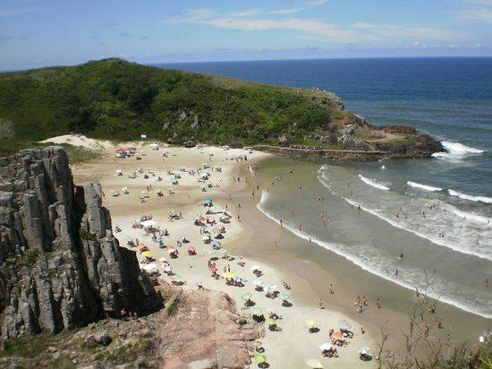 Praia Guarita: Imensidão