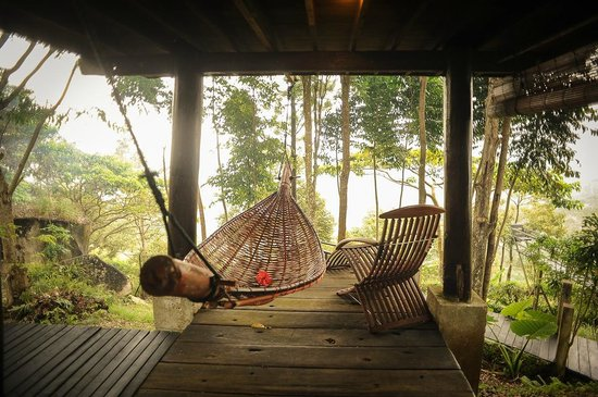 Malihom Private Estate: Hammock and deck chair