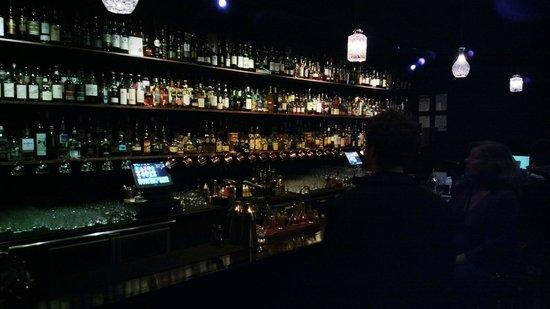 Eau De Vie : Rare and unusual bottles bless this bar