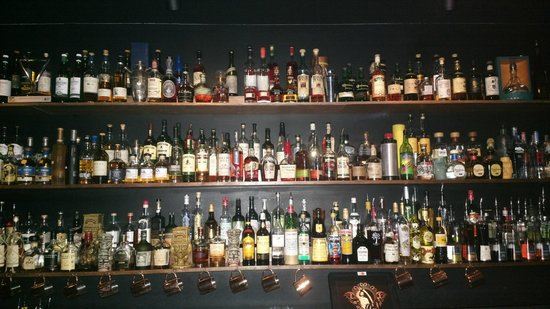 Eau De Vie: A most difficult choice.....just ask the bar staff for some guidance!