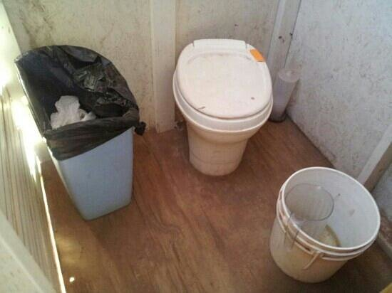 Spider Rock Campground : Basic toilet facilities