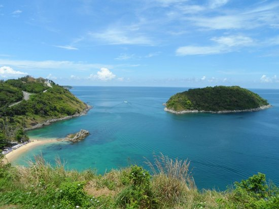 Nai Harn Beach: View